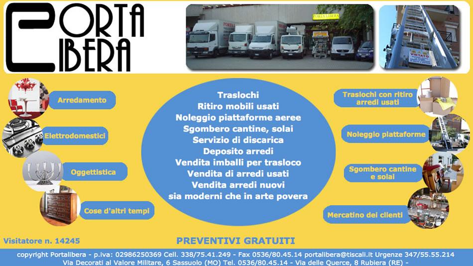 Portalibera - www.portalibera.it Traslochi Sassuolo - Modena ...